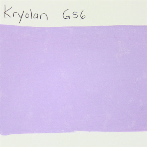 Kryolan Aquacolor G56 (Lilac)  - 30ml SWATCH - Jest Paint Store