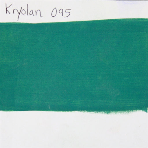 Kryolan Aquacolor 095 (Dark Green)  - 30ml SWATCH - Jest Paint Store
