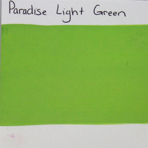 Paradise -  Light Green SWATCH - Jest Paint Store