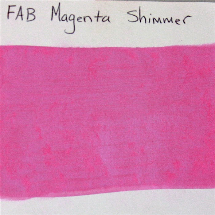 FAB - Magenta Shimmer 45gr #139 SWATCH - Jest Paint Store