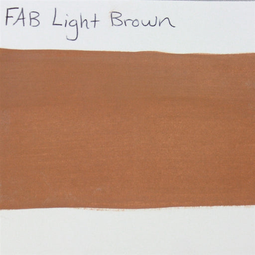 FAB - Light Brown 45gr #031 SWATCH - Jest Paint Store