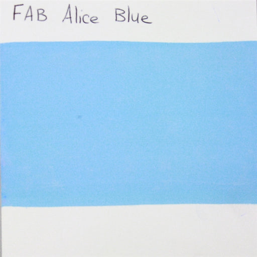 FAB - Alice Blue 45gr #116 SWATCH - Jest Paint Store