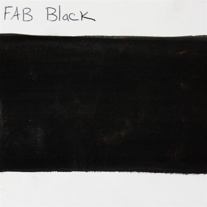 FAB - Black 45gr #163 SWATCH - Jest Paint Store