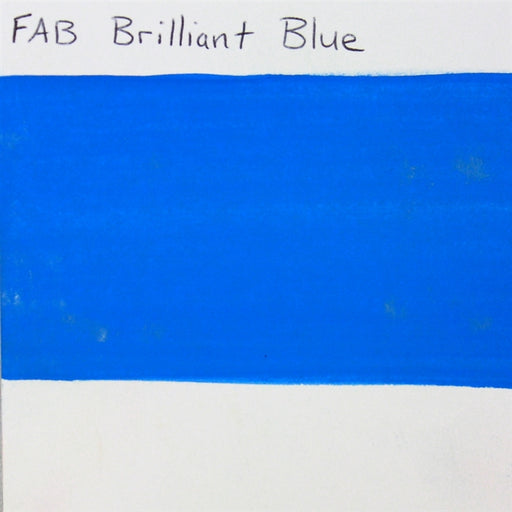 FAB - Brilliant Blue 45gr #143 SWATCH - Jest Paint Store