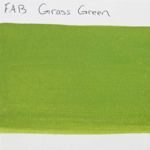 FAB - Grass Green 45gr #042 SWATCH - Jest Paint Store