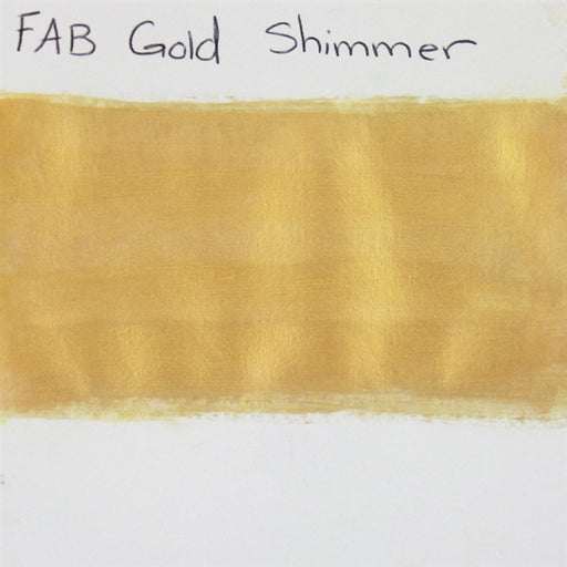 FAB - Gold Shimmer 45gr #141 SWATCH - Jest Paint Store