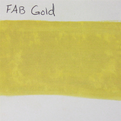 FAB - Gold (Golden Shimmer) 45gr #132 SWATCH - Jest Paint Store