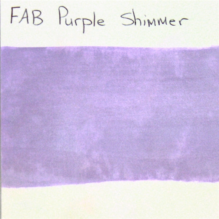 FAB - Purple Shimmer 45gr #134 SWATCH - Jest Paint Store