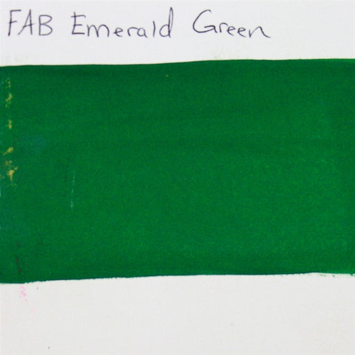 FAB - Emerald Green 45gr #241 SWATCH - Jest Paint Store