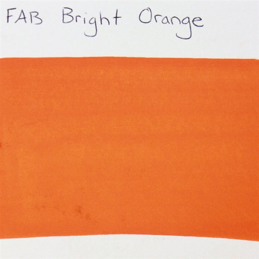 FAB - Bright Orange 45gr #033 SWATCH - Jest Paint Store