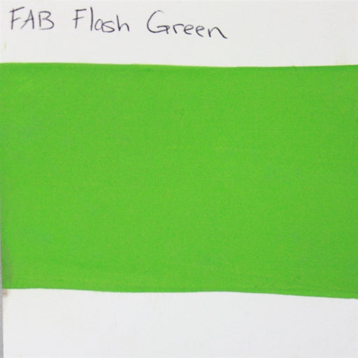 FAB Face Paint - Flash Green 45gr #142 SWATCH - Jest Paint Store