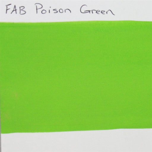 FAB Face Paint - Poison Green 45gr #210 SWATCH - Jest Paint Store