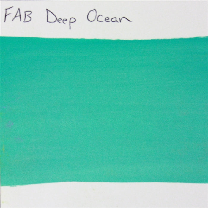 FAB Face Paint - Deep Ocean 45gr #209 SWATCH - Jest Paint Store