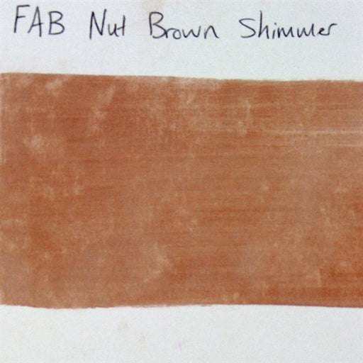 FAB - Nut Brown Shimmer 45gr #131 SWATCH - Jest Paint Store