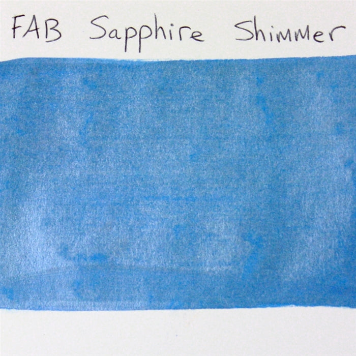 FAB - Sapphire Shimmer 45gr #137 SWATCH - Jest Paint Store
