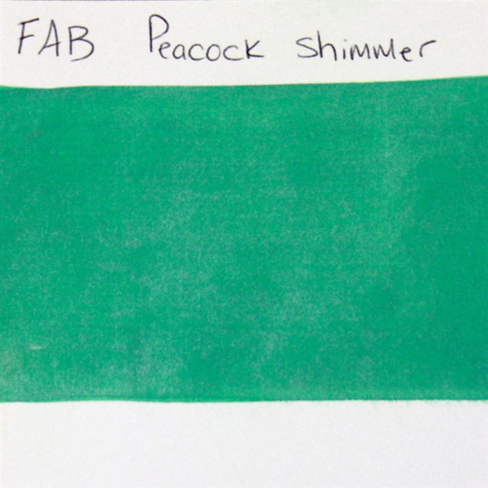 FAB - Peacock Shimmer 45gr #341 SWATCH - Jest Paint Store
