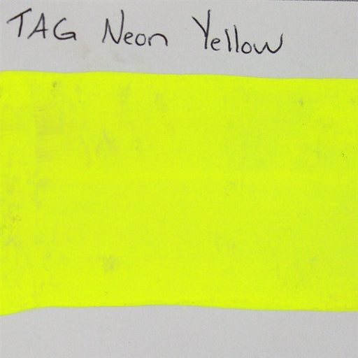 TAG - Neon Yellow  32g SWATCH - Jest Paint Store