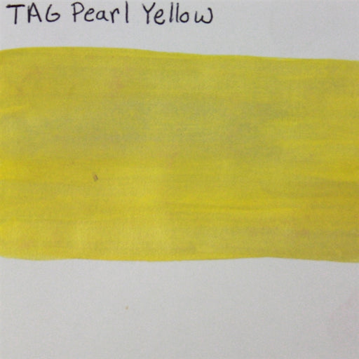 TAG  - Pearl Yellow  32g SWATCH - Jest Paint Store