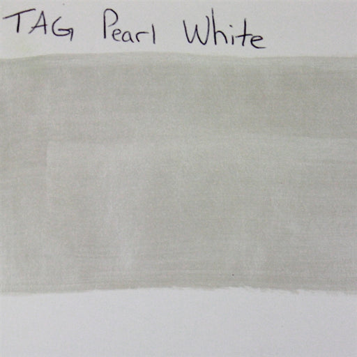 TAG - Pearl White  32g SWATCH - Jest Paint Store