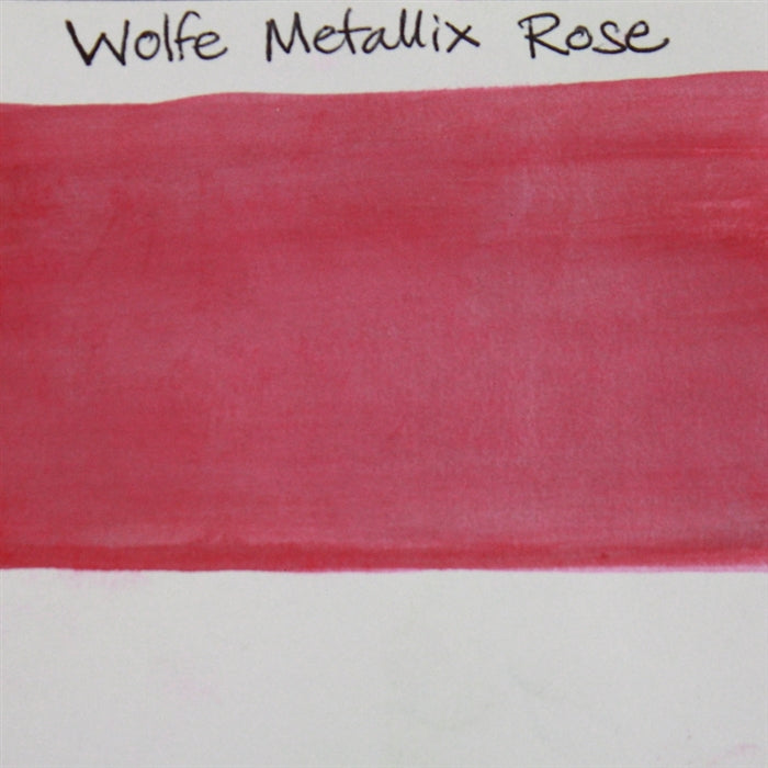 Wolfe FX - Metallix Rose 30gr (M30) SWATCH - Jest Paint Store