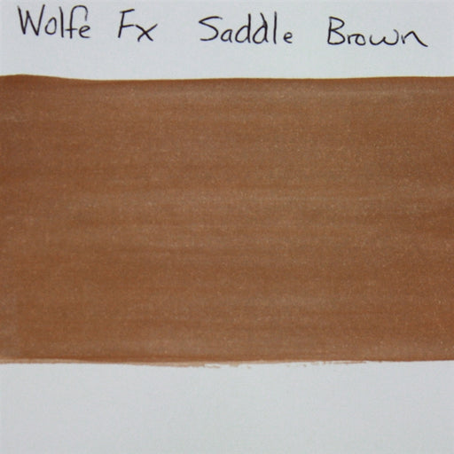 Wolfe FX - Essential Saddle Brown (019) 30gr SWATCH - Jest Paint Store