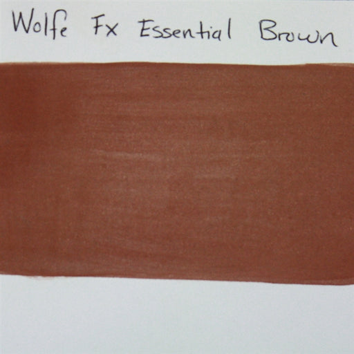 Wolfe FX - Essential Brown (020) 30gr SWATCH - Jest Paint Store