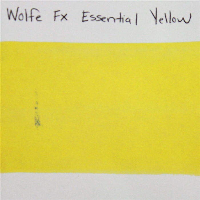 Wolfe FX - Essential Yellow 30gr (050) SWATCH - Jest Paint Store
