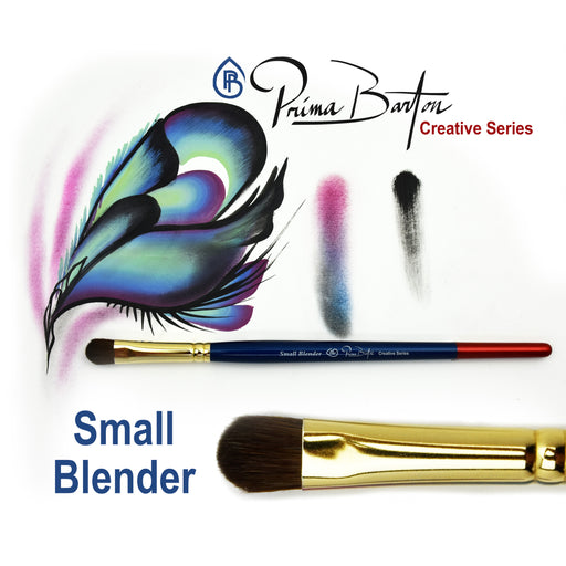 Prima Barton | Creative Series Face Painting Brush - Small Blender - Jest Paint Store