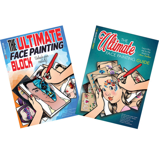 Sparkling Faces Ultimate Guides and Practice Blocks | Pick 2 or More and Save - Jest Paint Store