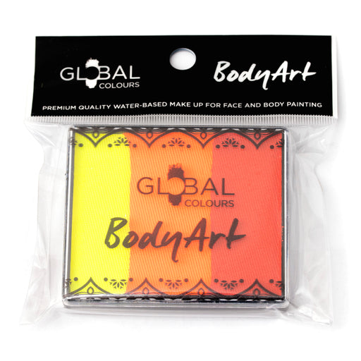 Global Colours | Rainbow Cake - Brightest Tiger 50gr (Magnetized) - Jest Paint Store