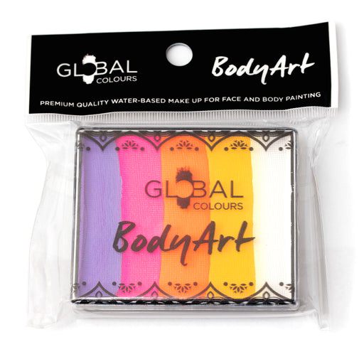 Global Colours Paint | Rainbow Cake -  Caribbean  50gr (Magnetized) - Jest Paint Store