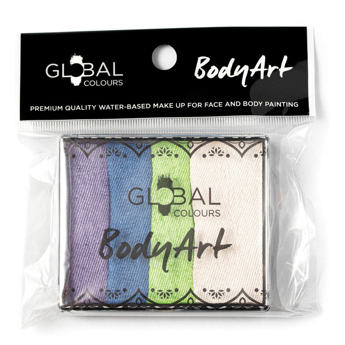 Global Body Art Face Paint | Split Cake - Fairy Tale  50gr (Magnetized) - Jest Paint Store