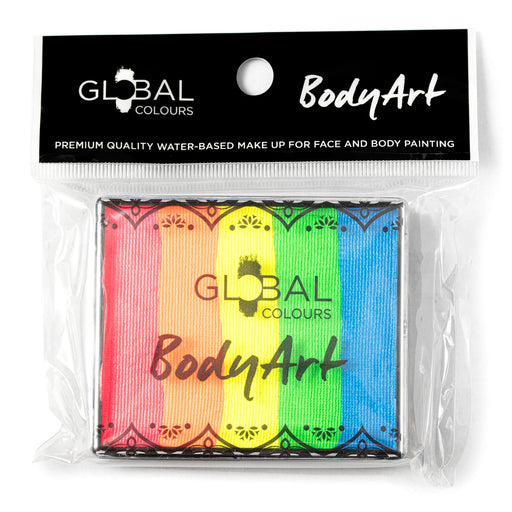 Global Colours | Rainbow Cake - Neon Rainbow 50gr (Magnetized) - Jest Paint Store