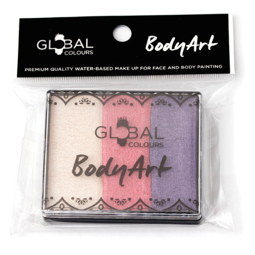 Global Body Art Face Paint |Rainbow Cake - Pearly Girl  50gr (Magnetized) - Jest Paint Store