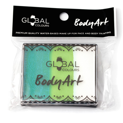 Global Body Art Face Paint | Rainbow Cake - Royal Jasmine  50gr (Magnetized) - Jest Paint Store