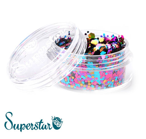 Superstar | Loose Chunky Glitter - Carnival (8ml Jar) - Jest Paint Store