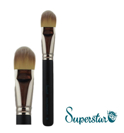 Superstar | Face Painting Brushes by Matteo Arfanotti - Filbert Body Brush #3 - Jest Paint Store