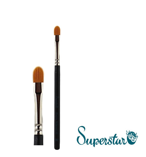 Superstar | Face Painting Brushes by Matteo Arfanotti - Filbert Brush #4 - Jest Paint Store