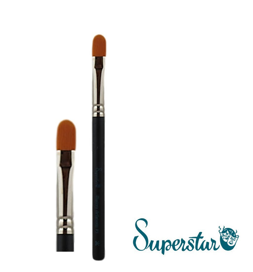 Superstar | Face Painting Brushes by Matteo Arfanotti - Filbert Brush #5 - Jest Paint Store