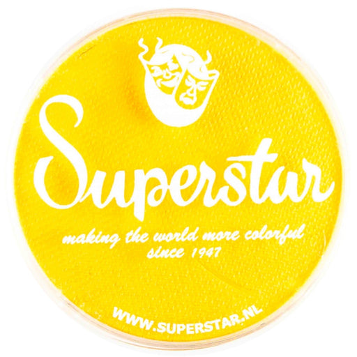 Superstar Face Paint | Bright Yellow 044 - 45gr - Jest Paint Store