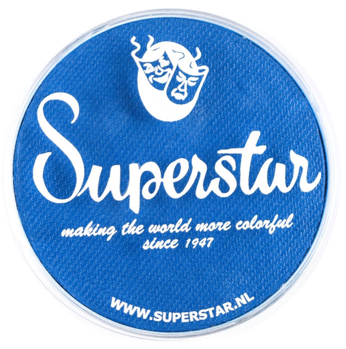 Superstar Face Paint | Brilliant Blue 143 - 45gr - Jest Paint Store