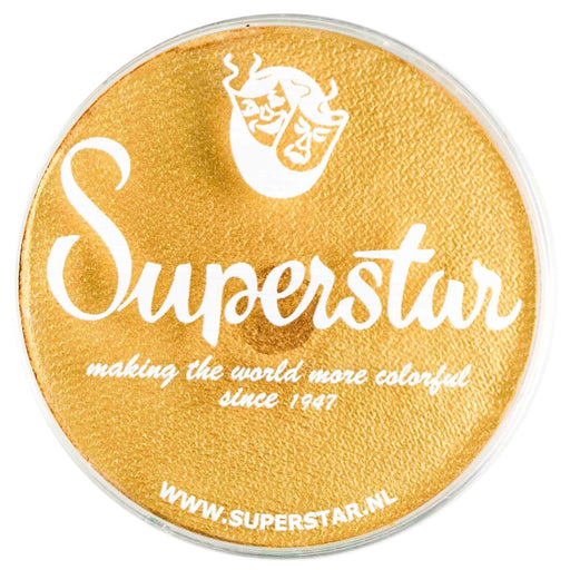 Superstar Face Paint | Gold Shimmer 141 - 45gr - Jest Paint Store
