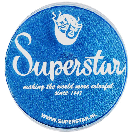 Superstar Face Paint | Mystic Blue Shimmer 137 - 45gr - Jest Paint Store