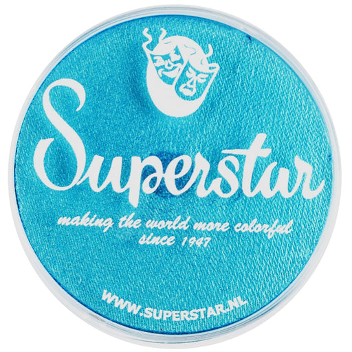 Superstar Face Paint | Ziva (Blue) Shimmer 220 - 45gr - Jest Paint Store