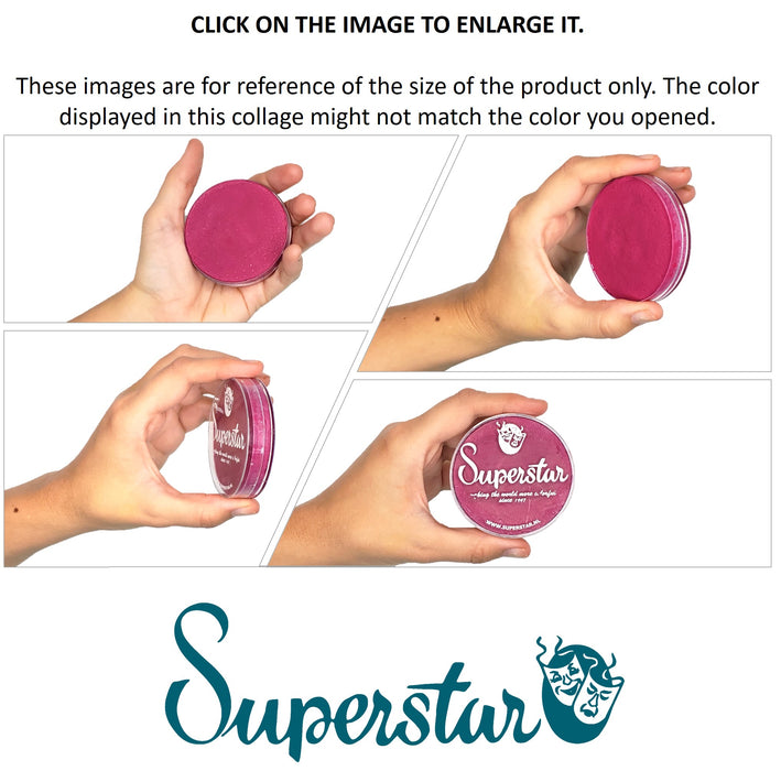 Superstar Face Paint |Interferenz Yellow Shimmer 132 - 45gr PERSPECTIVES