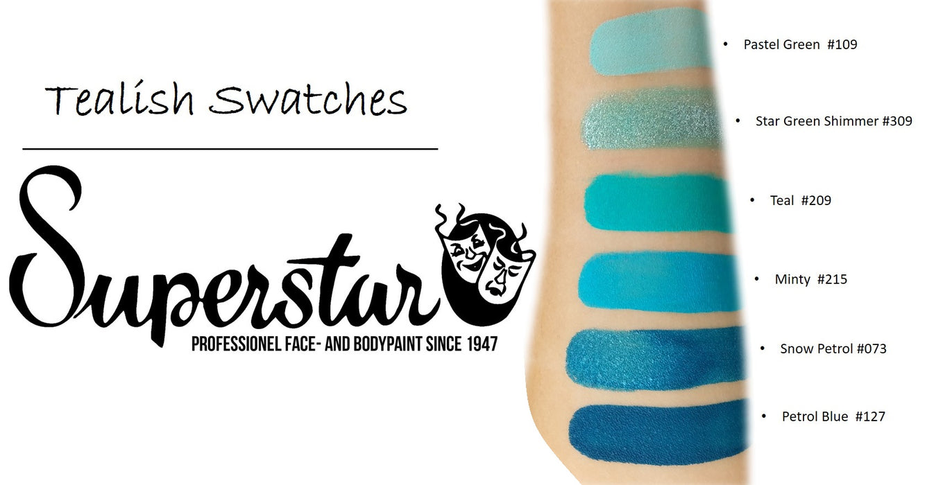 Superstar Face Paint  Swatches teal