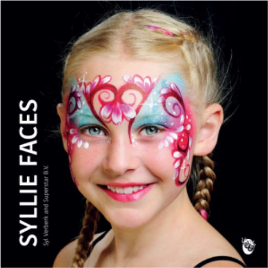 Superstar Face Painting Book | Syllie Faces by Syl Verberk