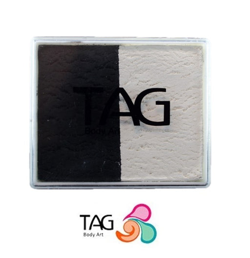 TAG Face Paint Split - EXCL Black and White 50gr #13 - Jest Paint Store