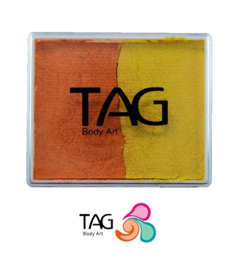 TAG Face Paint Split - Pearl Orange and Pearl Yellow 50gr #12 - Jest Paint Store