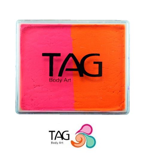 TAG Paint Split - EXCL Neon Pink and Neon Orange  50gr - #16 - Jest Paint Store